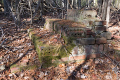 Step ruins (MarksPhotoTravels) Tags: ruins cleveland southcarolina homestead greenvillecounty evachandlerheritagepreserve