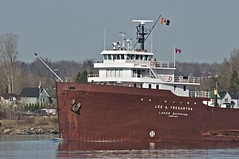lee a. tregurtha, st. mary's river (twurdemann) Tags: usa boat spring michigan greatlakes laker bulkcarrier stmarysriver bulkfreighter downbound leeatregurtha interlakesteamshipcompany classiclaker