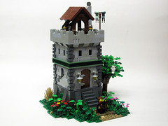 Tower of Arcadonia (_Matn) Tags: tree tower castle stone lego watchtower foitsop