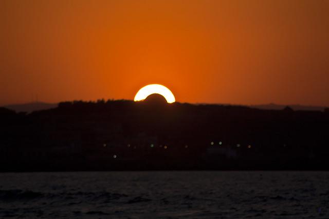 sunset rethymno