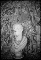 CONSTANTINE (Chris Protopapas) Tags: italy sculpture art museum florence nikon roman christian constantine tolerance bust empire marble uffizi nikons3 visipix