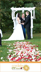 165 (cordelephotography) Tags: wedding roses weddingceremony outdoorwedding weddingaisle rosespetals