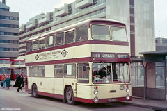 This was Coventry (Lady Wulfrun) Tags: city bus buses station transport east coventry warwickshire 48 daimler fleetline lancs neepsend eastlancs coventrytransport kkv48g