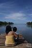 Ibu dan anak di tepi pantai (Dr.Kusmanto) Tags: pantai ibudananak