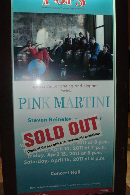 PINK MARTINI Concert @ Kennedy Center