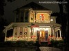 Dazzling Historic District Home in Fernandina Decorated For Christmas