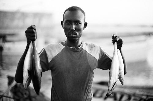 Fisherman in Berbera, Somaliland