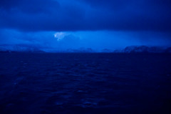 Blue light of the polar night (AdamKR) Tags: christmas uk cruise blue light norway circle sony north arctic alpha dslr nordnorge hurtigruten 2011 a550