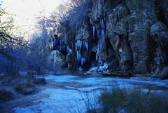 Esto es lo que pasa... (Bastet >^.^<) Tags: asturias oviedo vacaciones helado hielo cuenca cascadas rocuervo