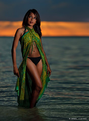 Sunset Mermaid (DanielKHC) Tags: light sunset fashion 1 model nikon key bokeh modeling wizard flash low explore pocket mauritius swimsuit sarong pareo deeya d300 strobist danielcheong sb900 danielkhc nikkor70200mmf28vrii beerjafan