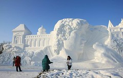 International Ice and Snow Festival in Harbin 2012 - 2 (kickitonMARS) Tags: china snow ice festival skulpturen eiskunst
