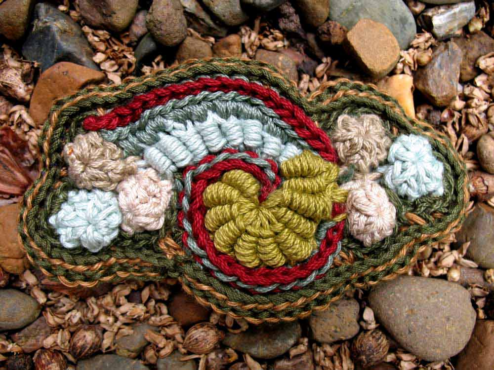 Freeform In The Landscape Knot Just Knitting - Free form