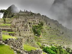 Morning on Machu Picchu