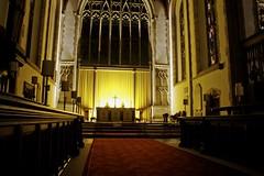 Illuminated (rosberond) Tags: church choir night norfolk illuminated lit chancel sanctuary cromer parishchurch communiontable canonefs1785mmf456isusm cromerparishchurch
