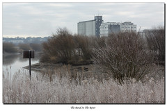 The Bend In The River (roddersdad) Tags: canon frost 2012 gainsborough rivertrent markerpost canon50d canonefs55250mmislens kerrysmill stoneybight wwwimagesbyclivecouk copyrightclivejmaclennan