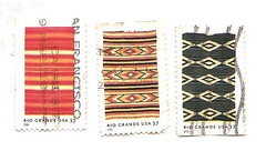 stamps 2005 - Rio Grande blankets (sftrajan) Tags: unitedstates philately sellos postagestamps timbres filateli philatelie   riograndeblankets