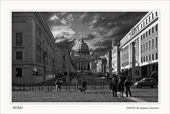 VIA DELLA CONCILIAZIONE.. ROMA (Folgazza) Tags: show nyc travel sunset italy roma nature phoenix beauty photoshop photography photo nikon europa europe italia colours tour shot photos live super 180 coolpix firenze siena toscana rosso venezia colori d300 cs3 cs4 massamarittima follonica tuscani viaggiare p6000 2485 passionphotography blinkagain
