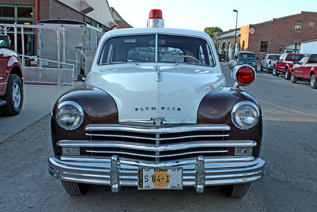 1949 Plymouth Special Deluxe 4-Door Sedan (Second Series) Police Cruiser (1 of 6)