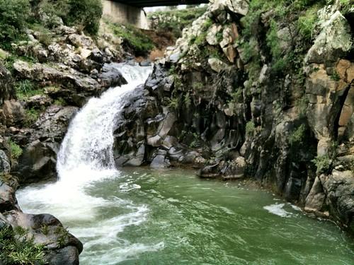 Sa'ar waterfall, Golan Heights