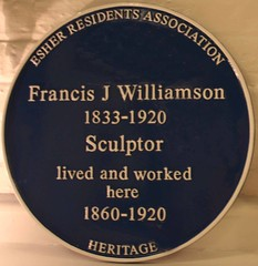 Photo of Francis James Williamson blue plaque