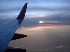 Window view... () Tags: sunset vacation sky holiday southwest clouds plane airplane fly inflight aircraft altitude flight wing jet overcast aerial windowview boeing winglet happyholidays merrychristmas rtw aereo airliner vacanze avion happynewyear 737 southwestairlines wingtip kalifornien roundtheworld cooley californie hny globetrotter airplanewing areo jetwing boeing737  worldtraveler   californi ario     cooleylanding  12312011