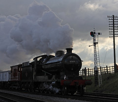 Final Days In Service (barry 13092) Tags: rail steam locomotive o4 greatcentralrailway gcr 63601 wintersteamgala