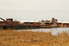 Tugboat Graveyard (Triborough) Tags: nyc newyorkcity ny newyork graveyard island tugboat statenisland staten rossville richmondcounty