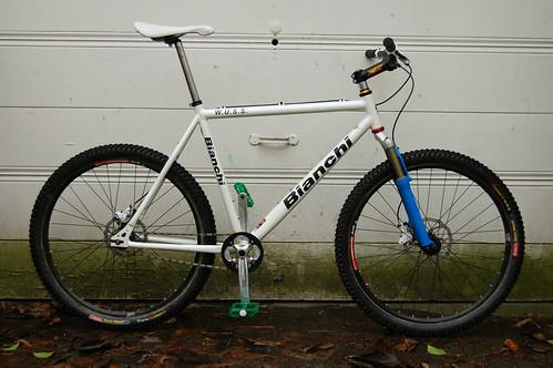 2006 Bianchi W U S S Xl Single Speed Mountain Bike A Photo On