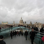 St Paul's / Millennium Bridge - London thumbnail
