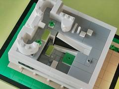 Villa SAVOYE 12 ((K_A) King_Arthur) Tags: monument architecture lego unesco villa lecorbusier savoye corbu miniscale