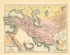 Map page of Section LXXX Western Asia under the Mongols A.D 1330 from Part XX of Historical atlas of modern Europe from the decline of the Roman empire : comprising also maps of parts of Asia and of the New world connected with European history (uconnlibrariesmagic) Tags: magic atlas romanempire 1896 moderneurope 184500000poole westernasiaunderthemongolsad1330