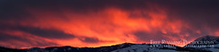 Fiery Sunset Above Teton Pass (Free Roaming Photography) Tags: winter sunset panorama usa cloud mountain snow storm mountains west clouds nationalpark butte glow cloudy dusk hill panoramic jackson hills western northamerica wyoming teton tetons storms grandteton jacksonhole fiery buttes grandtetonnationalpark tetonpass eastgrosventrebutte glorypeak snakerivermountains