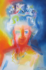 HM Queen Elizabeth II - Diamond Jubilee Tribute 2012 by Stephen B Whatley (Stephen B Whatley) Tags: woman art lady diamonds grandmother kate jubilee mother royal sparkle buckinghampalace monarch oil expressionism jewels crownjewels queenelizabeth2 royalty toweroflondon qe2 queenofengland oilpainting princewilliam 2012 1952 thequeen princessmargaret queenelizabethii diadem blueribbonwinner barbarawindsor matthewwilliamson georgevi damejudidench diamondjubilee bej katemiddleton abigfave juliewalters sianphillips february6th flickrdiamond williamkate colourartaward goldstaraward queenportraits stephenbwhatley portraitofthequeen artiststephenbwhatley duchessofcambridge dukeduchessofcambridge queensdiamondjubilee thequeenbystephenbwhatley newpaintingofthequeen newportraitofthequeen queenelizabethdiamondjubilee queendiamondjubilee elizabethiidiamondjubilee portraitofthequeenbystephenbwhatley thequeensnewportrait paintingofthequeen paintingofqueenelizabeth portraitsofqueenelizabeth2 diamondjubileeportraits georgeivdiadem mostrecentportraitofthequeen newportraitofqueen thequeenkate portraitsofthequeen jubileepaintings queenelizabethiiportrait contemporaryportraitsofthequeen newroyalportrait