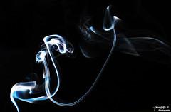 Smoke Cyan. (© Dominik J. Photography) Tags: blue green art canon 50mm waves smoke cyan dslr rauch kreativ künstlerisch karlsfeld dominikjakob dominikjphotography