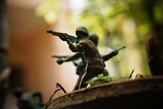 (mang darpin) Tags: toy soldier war action battle figure mainan tentara