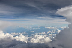 Here in Paradise (Fabriccio Daz) Tags: above clouds plane amazing forms heights formations abovetheclouds strangeclouds