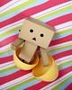 Hatch-y Easter! (partymonstrrrr) Tags: easter robot box egg mini cardboard eggs yotsuba danbo revoltech danboard