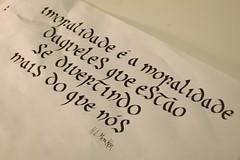 Mencken (Ivan Jerônimo) Tags: brazil india ink calligraphy sumi portuguese caligrafia 書道 墨 ブラジル 西洋 ポルトガル語