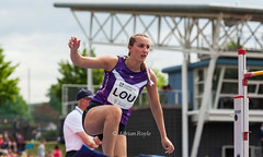 DSC_1767 (Adrian Royle) Tags: people field sport athletics jump jumping nikon track action stadium running run runners athletes sprint throw loughborough throwing loughboroughuniversity loughboroughsport