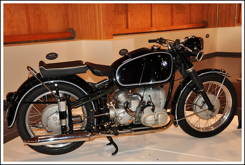 1954 BMW R68 Motorcycle