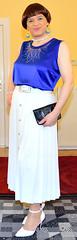 Birgit022062 (Birgit Bach) Tags: top skirt pleated faltenrock