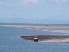Channel Marker (divnic) Tags: uk sea england water ferry boat seaside ship riverside vessel lancashire buoys buoy waterway fleetwood irishsea lancs seamark navigationmark buoyant navigationalaid