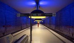 Which Way (Pamela Marklew) Tags: underground subway munich mnchen ubahn westfriedhof