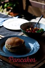 pancakes (Storie dalla Cucina) Tags: pancakes breakfast macedonia foodporn american miele colazione menta storie stevia foodblog pesche lamponi foodblogger storiedallacucinaealtriracconti storiedallacucina