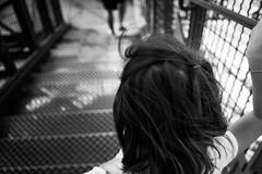By myself (Kevin STRAGLIATI) Tags: childhood hair back kid iron child memories toureiffel growing growingup strairs