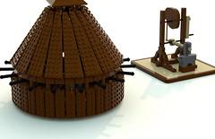 leonardo_machines (ravescat) Tags: wheel hammer tank lego da historical leonardo vinci weapons moc