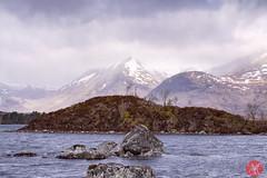 Bridge of Orchy 5 (Kasia Sokulska (KasiaBasic)) Tags: lake mountains landscape scotland spring highlands bridgeoforchy lochannahachlaise fujix