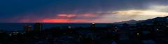 DSC_0045_PAN (sergeysemendyaev) Tags: sunset sea panorama beautiful spring view russia dusk adler blacksea sochi  2016         pravoslavnayastreet