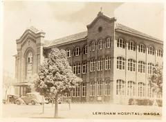 Lewisham Hospital Wagga (Daddys 'lil Girl) Tags: postcard australia nsw historical 1949 wagga albury riverina