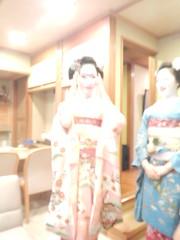 Mamekiku (Kikyou chan) Tags: kyoto maiko tama gion okiya hanamachi kobu mamekiku mamefuji karyuukai